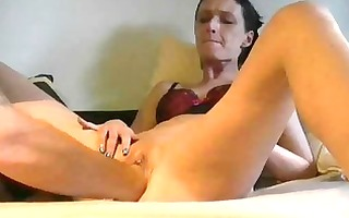 skinny housewife is fisted by her huge spouse