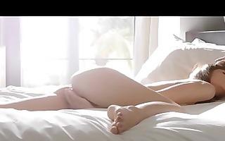 solo luxury masturbation on couch