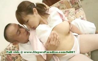 myuu hasegawa hot girl charming chinese doll gets
