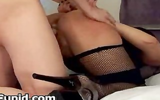tractable wife gets spanked and creampied