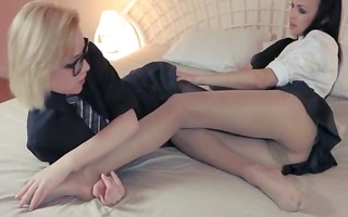 hot blondie lets fuck by large ding-dong
