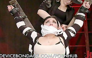 doxy locked up and painfully punished