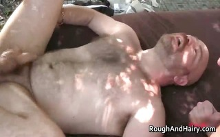 homo gangbang scene with a lot of dick part6